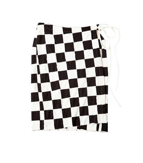 Alamba Chanin  Small Block Wrap Skirt