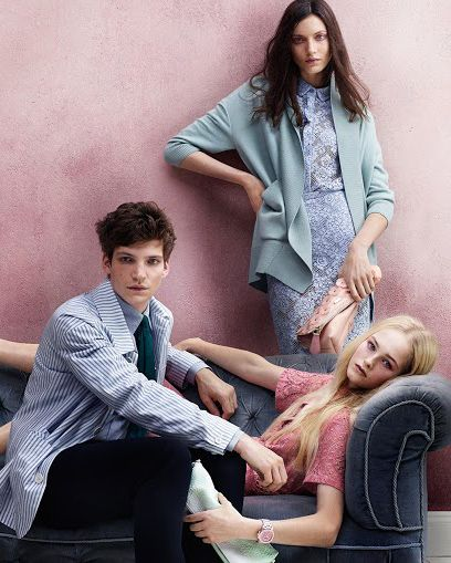 Burberry's Fresh S/S 2014 Campaign
