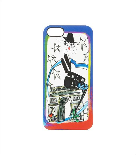 Lanvin  Lanvin Printed iPhone 5 Cover