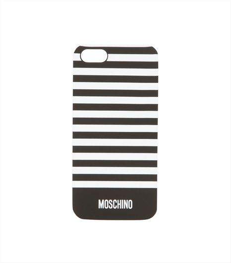 Moschino  Moschino iPhone Striped Case