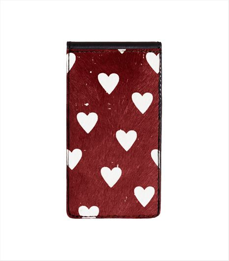 Burberry  Burberry Heart Print iPhone 5/5S Case