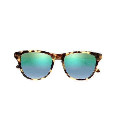 Stella McCartney  Stella McCartney Square-Frame Tortoiseshell-Print Acetate Sunglasses