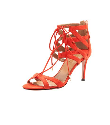 Aquazzura  Aquazzura Beverly Hills Lace-Up Sandal