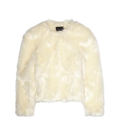 Simone Rocha  Simone Rocha Faux Fur Jacket