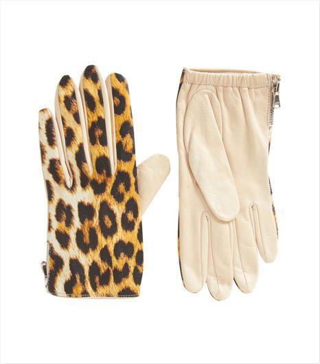 3.1 Phillip Lim  3.1 Phillip Lim Leopard Print Driving Glove