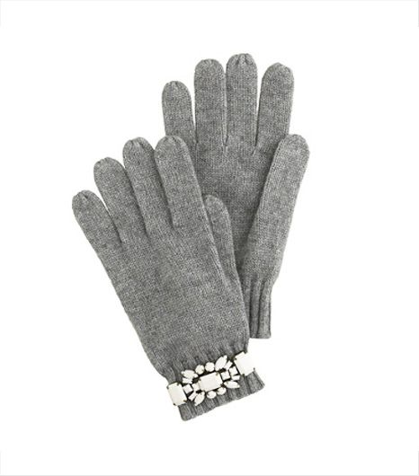 J.Crew  J.Crew Jeweled Gloves