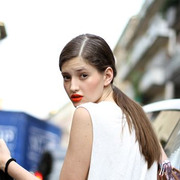 Red Lipstick Street Style (Beauty!) Round-Up With The Urban Spotter