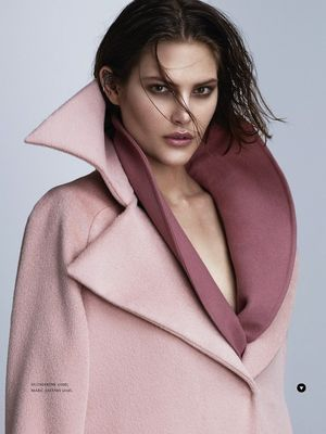 Cat McNeil Draped In This Season's Best Oversized Coats For Russh Magazine