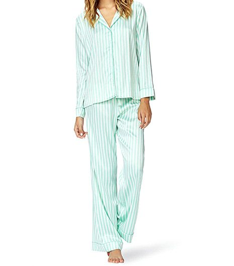 Forever 21 Classic Striped PJ Set