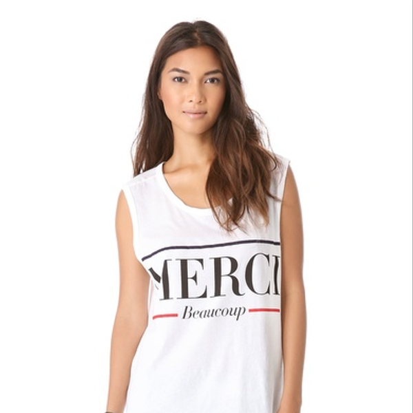 Lovers + Friends  Muscle Tee
