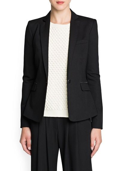 Mango  Tailored Blazer
