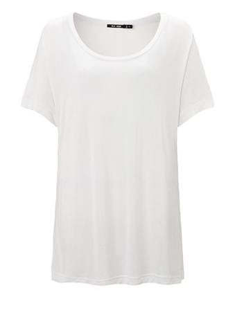 BLK DNM  White T-Shirt