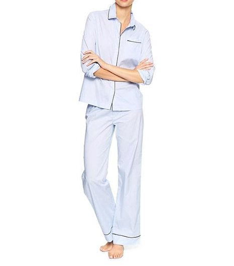 Gap  Printed Poplin PJ Set