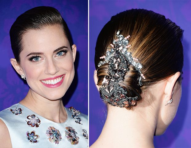 Get Allison Williams' Tricked Out Hair from the New York Premiere of Girls
