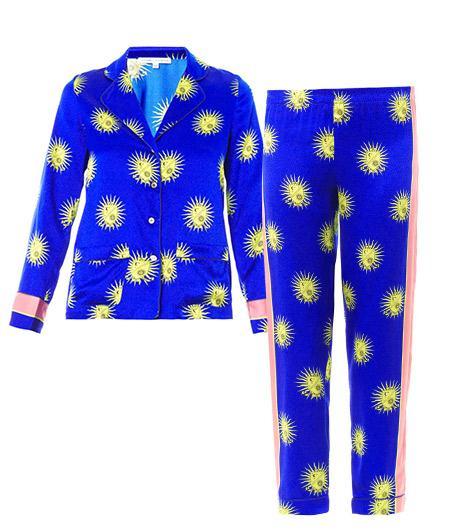 Raphaella Riboud Alfred Silk-Satin Pajamas