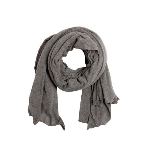 Black Lily  Oversized Knitted Scarf