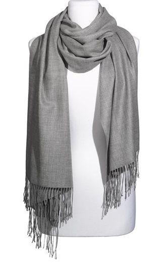Nordstrom Tissue Weight Wool & Cashmere Wrap