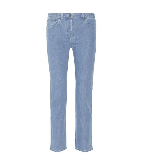 The Row Norland Mid Rise Straight Leg Jean