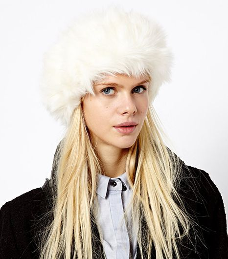 River Island  Faux Fur Headband