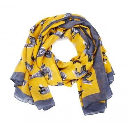 Sole Society  Fox Print Scarf