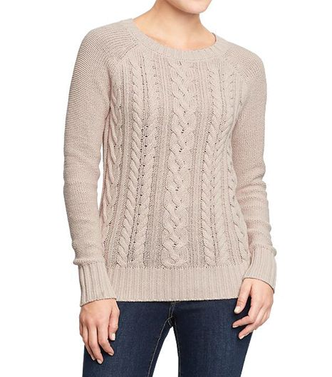 Old Navy Cable-Knit Crew Sweater