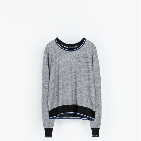 Zara  Cotton Sweatshirt