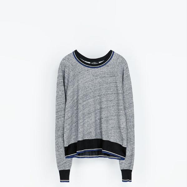 Zara  Cotton Sweatshirt