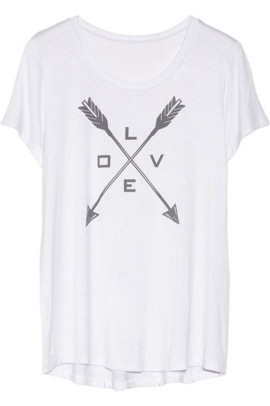Trish Summerville  Love Stretch-Jersey T-Shirt