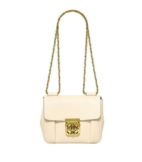 Chloe  Elsie Grained Leather Shoulder Bag