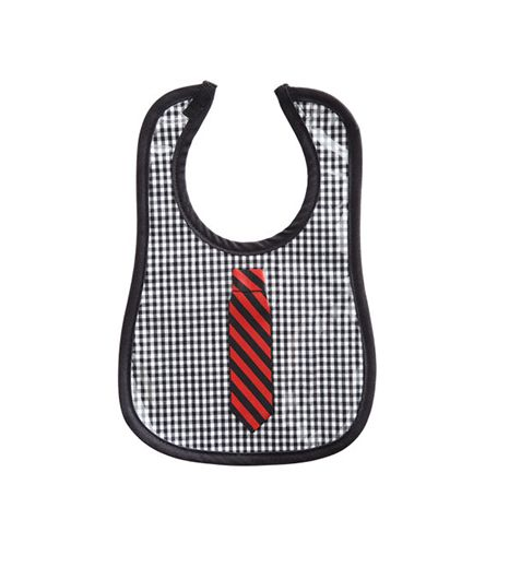 Mini Maniacs Mini Maniacs Shirt and Tie Bib ($24):