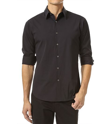 Theory Theory Slyvain Solid Dress Shirt