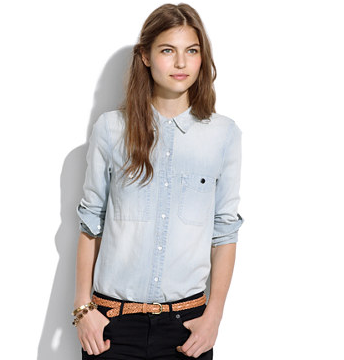 Madewell Denim Boyshirt