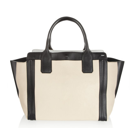 The Alison Small Leather Tote  Chloé