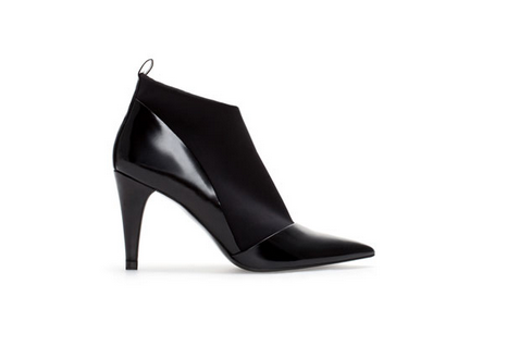 Zara Pointed High Heel Ankle Boots