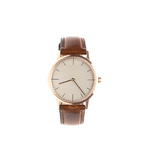 Uniform Wares 152 PVD Rose Gold & Walnut Watch