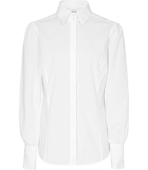 Reiss Franny Shirt in White