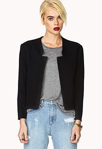 Forever 21   Sophisticated Cropped Blazer