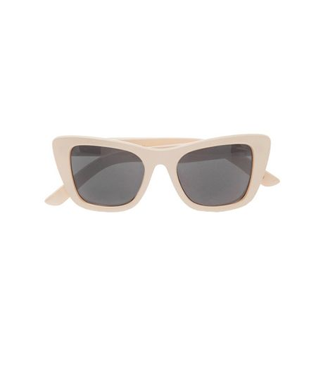 Le Specs  Le Specs Sphinx Cat Eye Acetate Sunglasses