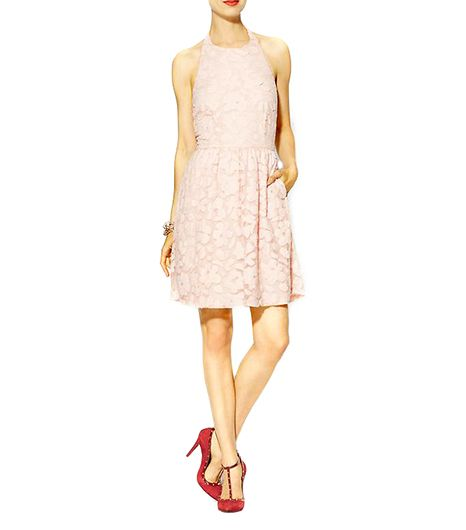 Pim + Larkin Lace Halter Dress ($45)