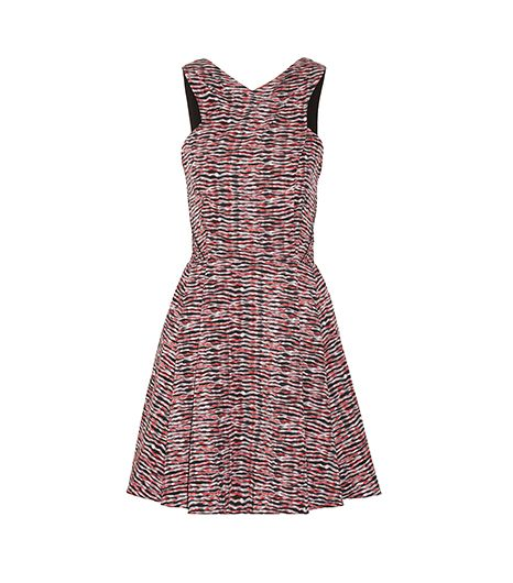 Proenza Schouler Printed Silk-Georgette Dress
