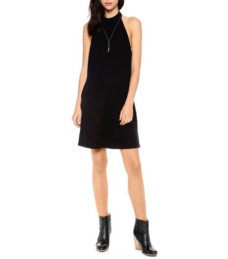 Lanston Turtleneck Halter Dress