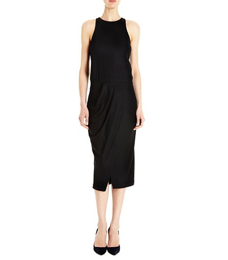 Helmut Lang Halter Midi Dress