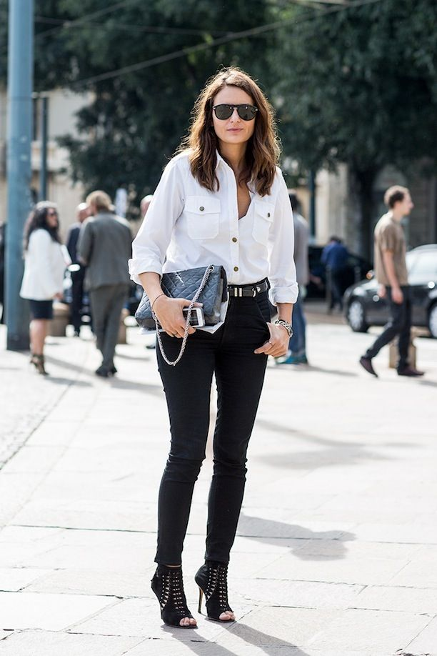 Effortless Black & White Mix, 2 Ways: See The Street Style Shots