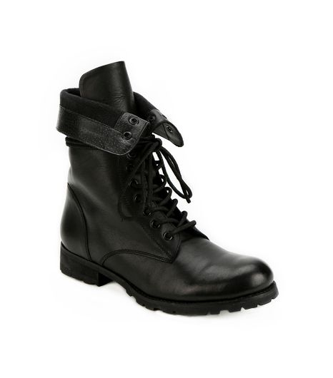 Deena & Ozzy Fold-Over Combat Boots
