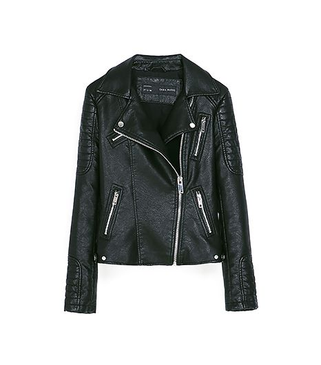 Zara  Motorcycle Jackets with Zips