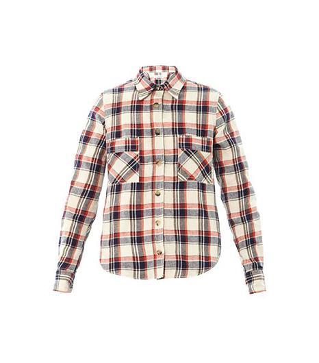 Etoile Isabel Marant  Ugo Flannel Check Shirt