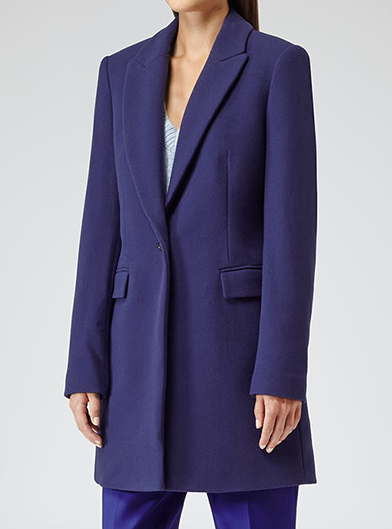 REISS 1971 Soul Straight Cut Coat