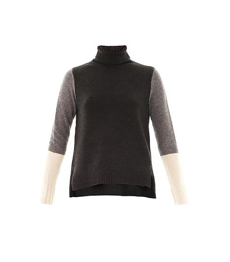 Vince  Colour-Block Wool Sweater