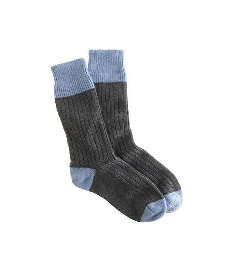 Corgi for J.Crew  Cashmere Tipped Socks