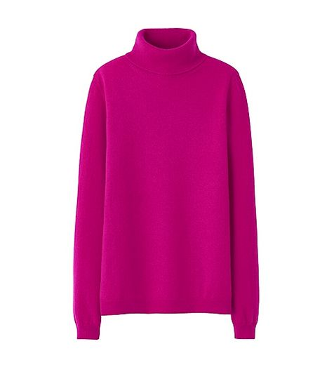 Uniqlo Uniqlo Cashmere Turtleneck Sweater